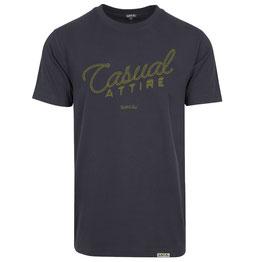 "T-Shirt ""Casual Attire"" Navy"