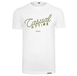 """T-Shirt """"Casual Attire"""" White"""