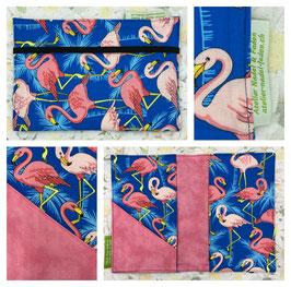 Gesundheitsheft-Hülle (Flamingo pink)