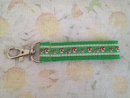Mini-Schlüsselband mit Fliegenpilzmuster
