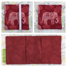 Pixi-Büechli-Hülle (Elefant rot/ rot)
