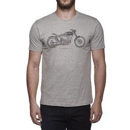 T-Shirt Royal Enfield Classic Skunkworks colore grey RLATSF0000