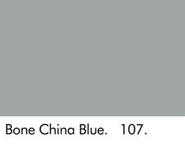Bone China Blue - 107