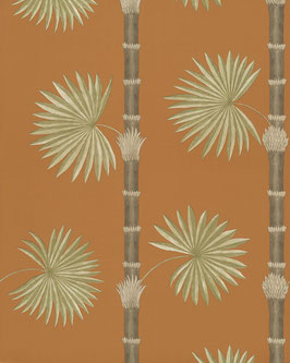 HARDY PALM - BURNT ORANGE