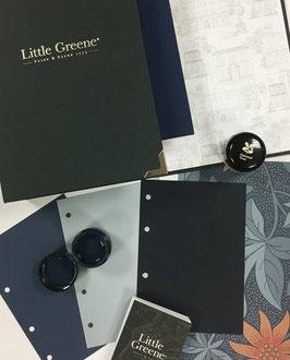 Little Greene Farbenalbum in A5 Grösse, 191 einzelne Farbblätter in den Originalfarben