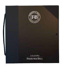 Farrow & Ball Farbenbuch mit allen Originalfarben in der Grösse A5