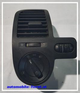 VW Lupo 1.0l orig. Luftauslass mit Lichtbedienelement 1C0 941 531