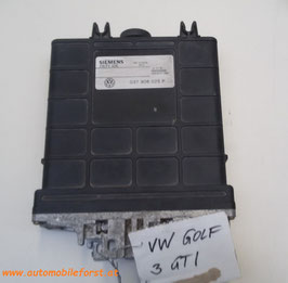 VW GOLF III GTI 2.0 MOTORSTEUERGERÄT ECU 037 906 025P