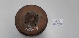 VW Golf 3 Bremstrommel links - komplett