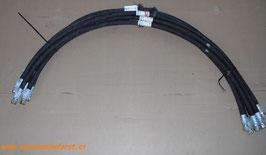 Hydraulikschlauch 1200mm Länge 3/8Zoll