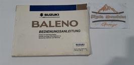 Suzuki Baleno Betriebsanleitung