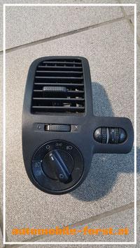 VW Polo 6N2 orig. Luftauslass mit Lichtschalter 1C0 941 531A