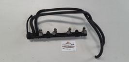 VW Golf 3 Benzin Einspritzleiste Magnet Marelli 032 133 319