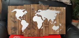 Altholz Weltkarte
