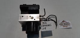 KIA CARNIVAL ABS BLOCK 0K56T 43 7A0