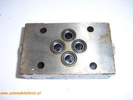 Hydraulik Sicherheitsplatte `Sperry Vickers´ DGMA-3-T1-10-B