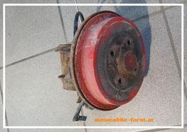 VW Polo 6N2 Bremstrommel mit Bremsseil rechts