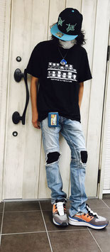 GBヒストリー黒Tシャツ