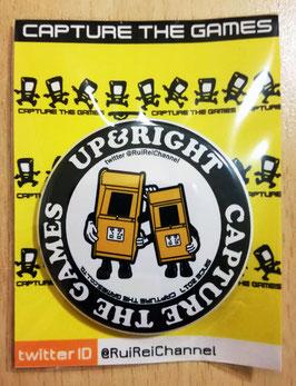UP&RIGHTオリジナル缶バッチ