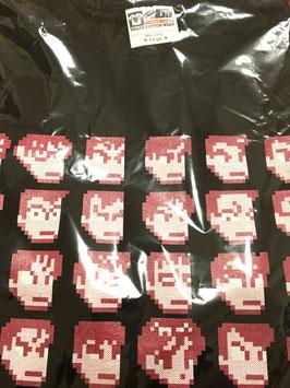 ダウンタウン全員集合Tシャツ【ブラック・赤】