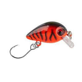 BALZER Trout Attack Wobbler 3cm 2g UV Aktiv sinkend Rot Nr.5
