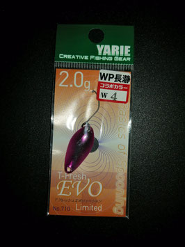 Yarie T-fresh evo 2g  W4