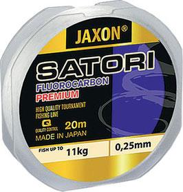 Jaxon Satori Fluorcarbon der Spitzenqualität 20 Meter