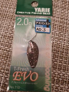 Yarie Spoon T-fresh EVO 2g AD3