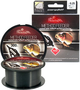 Carp Expert Method Feeder Teflon Schnur 300m