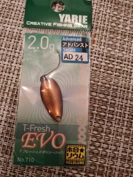 Yarie Spoon T-fresh EVO 2g AD24