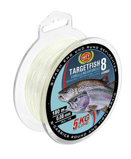 WFT Targetfish 8 Forelle  0,08mm