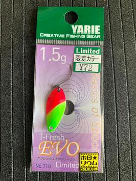 Yarie T-fresh evo 1,5g Y72