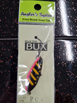 Angler´z System BUX 3,8g PC S Rückseite silber Nr. 16