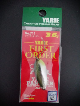 Yarie 3,6g first order A5