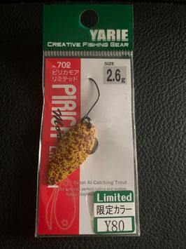 Yarie 2,6g Y80 Pirica