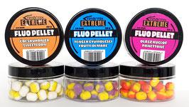 Timarmix Extreme Fluo Pellet ist ein zweifarbiger Hakenköder