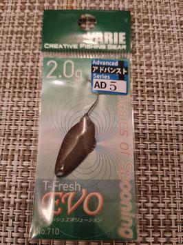 Yarie Spoon T-fresh EVO 2g AD5