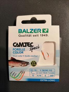 Balzer Camtec UV- Haken 140cm  Vorfach