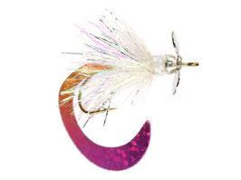 Fliegen für den Forellenteich mit Propeller und Tungstenperle 10