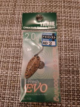 Yarie Spoon T-fresh EVO 2g AD2