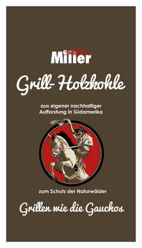 Miller Grillkohle 1,5 kg