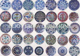 ST - 135 - ASSIETTES TURQUES - TURKISH PLATES