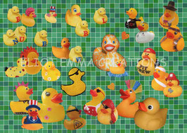 ST - 362 - CANARDS EN CAOUTCHOUC - RUBBER DUCKIES