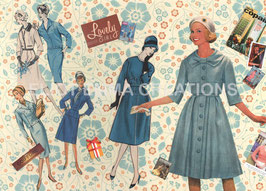 ST - 269 - LA MODE DES ANNNES 50 - FASHION OF THE FIFTIES