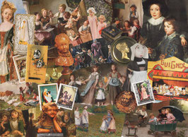 ST - 407 - TABLEAUX ANCIENS - ENFANCE - OLD PAINTINGS - CHILDHOOD