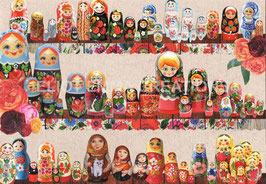 ST - 357 - POUPEES MATRIOCHKA - MATRYOSHKA DOLLS
