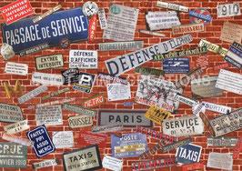 ST - 370 - SUR LES MURS DE PARIS - ON THE WALLS OF PARIS - 1