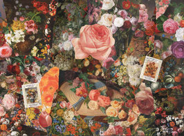 ST - 405 - TABLEAUX ANCIENS - FLEURS - OLD PAINTINGS - FLOWERS