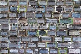 ST - 242 - FONTAINEBLEAU - PLAQUES DES SENTIERS FORESTIERS - FONTAINEBLEAU FOREST TRAIL PLATES