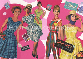ST - 266 - LA MODE DES ANNEES 50 - FASHION IN THE FIFTIES
